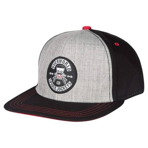 Minecraft Spider Jockey Youth Snapback Baseball Hat - Multi