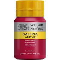 Winsor & Newton - Galeria Acrylic - 250ml Squeeze Bottle - Permanent Rose