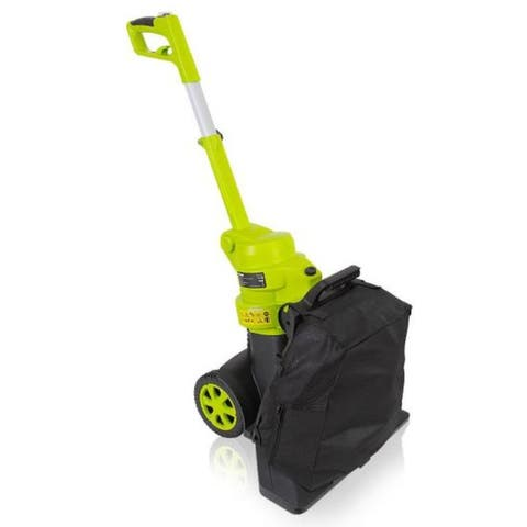 Electric Vacuum Blower - Corded Home Garden Blower, Vacuum, Mulcher System