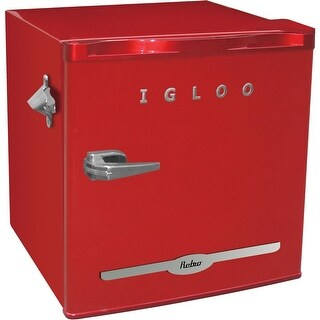 Curtis - Fr176red - Igloo 1.6 Cuft Retro Fridge Rd
