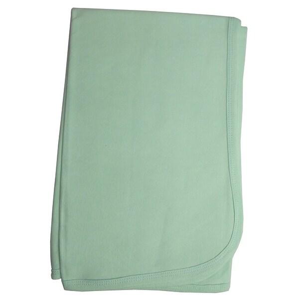 Bambini Mint Receiving Blanket - Size - 30x40 - Unisex
