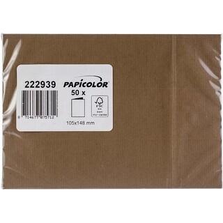 Nut Brown - Papicolor A6 Folded Cards 50/Pkg