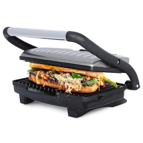 Brentwood TS-611 Non-Stick 1000-Watt Panini Press and Sandwich Maker