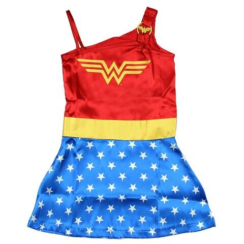 DC Comics Little Girls' Wonder Woman Strappy Nightgown