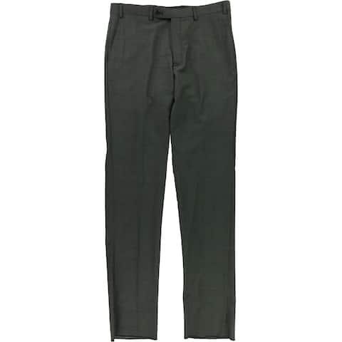 Vince Camuto Mens Slim Fit Wool Dress Pant Slacks