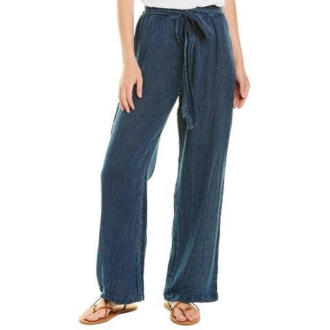 Elan Tie-Waist Straight Pant