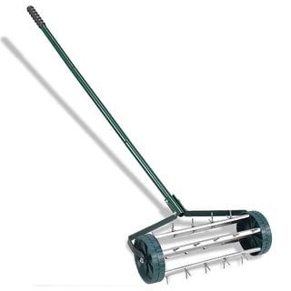 Link to Heavy Duty Rolling Garden Lawn Aerator Similar Items in Gardening