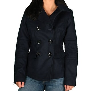 Marilyn & Me Junior Faux Wool Pea Coat