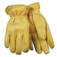Kinco 90HK-XL Men's Thermal Lined Deerskin Gloves, Extra-Large