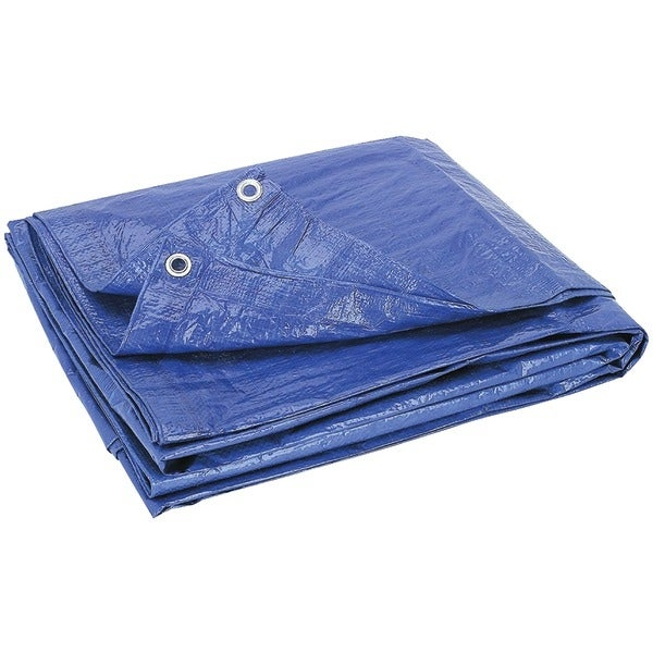 Howard Berger V1216 Reinforced Plastic Tarp (12Ft X 16Ft)