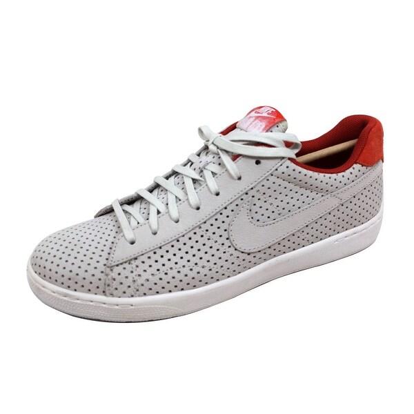 Nike Men's Tennis Classic Ultra QS Light Bone/Light Bone-Bright Citrus 807175-008 Size 9