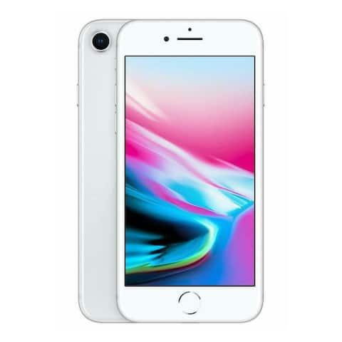 Apple iPhone 8 64GB Silver A1863 Verizon + GSM Unlocked Refurbished Smartphone