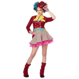 Tween Mad as a Hatter Costume