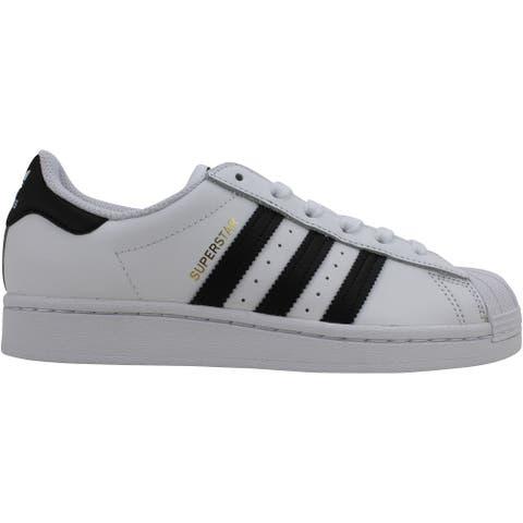 Adidas Superstar Footwear White/Core Black FU7712 Grade-School
