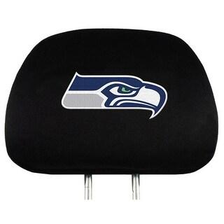 Team Promark Seattle Seahawks Headrest Covers Set Of 2 Headrest Covers