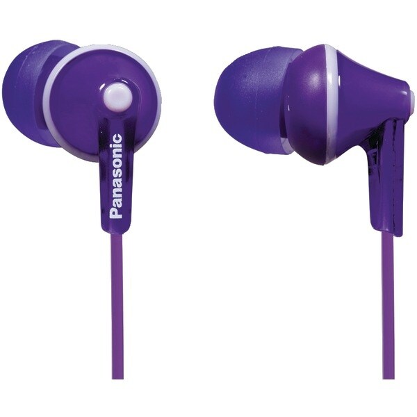 Panasonic Rp-Hje125-V Hje125 Ergofit In-Ear Earbuds (Violet)