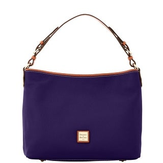 Dooney & Bourke Pebble Grain Large Courtney Sac (Introduced by Dooney & Bourke at $298 in Sep 2016) - Plum