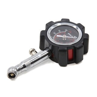 Portable Auto Car Vehicle Dial Tyre Tire Gauge 0-100 Psi Black