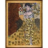Gustav Klimt 'Portrait of Adele Bloch-Bauer I, 1907' (Luxury Line) Hand Painted Oil Reproduction