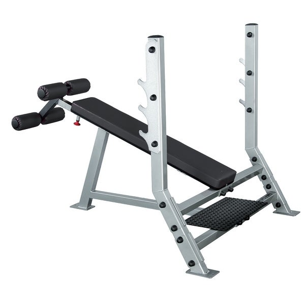 Body-Solid Pro ClubLine Decline Olympic Bench - Metal