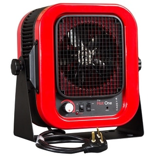 Cadet RCP502S The Hot One 5000W 240V Garage Heater - Red