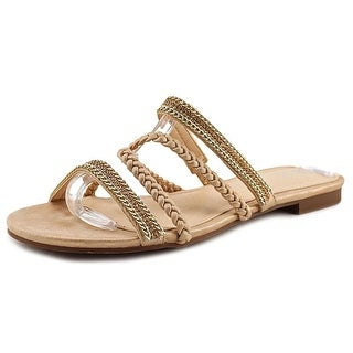 GC Shoes Glitzy   Open Toe Synthetic  Slides Sandal