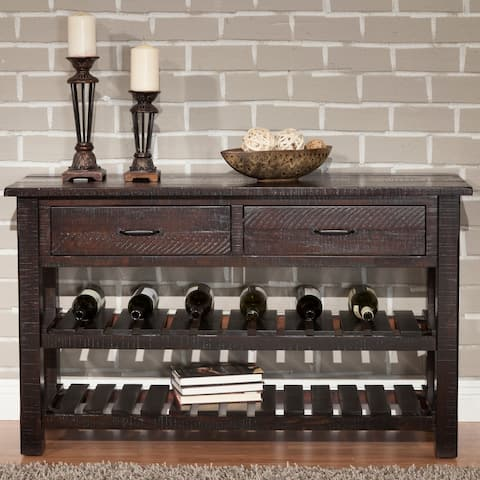 Martin Svensson Home Barn Door Collection Solid Wood Console Sofa Table