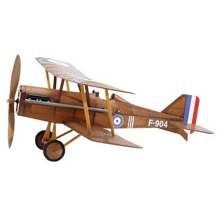 Vintage Model Co. British RAF SE5A Balsa Model Airplane Kit -Rubber Band Powered - brown
