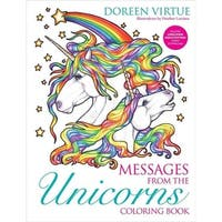 Messages from the Unicorns Coloring Book - Doreen Virtue
