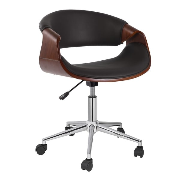 Porthos Home Adjustable Office Chair With 360-Degree Swivel And Wheels. Opens flyout.