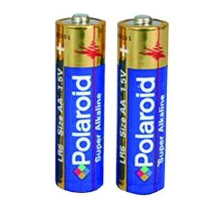 Polaroid 2 Pack AA Alkaline Battery