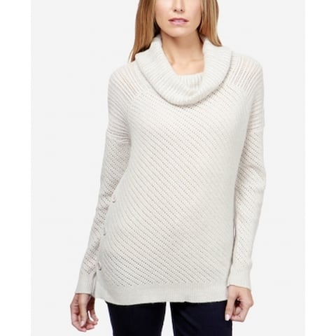 281bdaacfb4 Lucky Brand Gray Womens Size Small S Knitted Cowl Neck Sweater