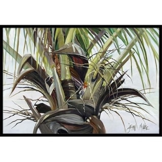 Carolines Treasures JMK1130MAT Top Palm Tree Indoor & Outdoor Mat 18 x 27 in.