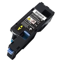Dell V53F6 Dell Toner Cartridge - Yellow - Laser - High Yield - 1000 Page - 1 / Pack