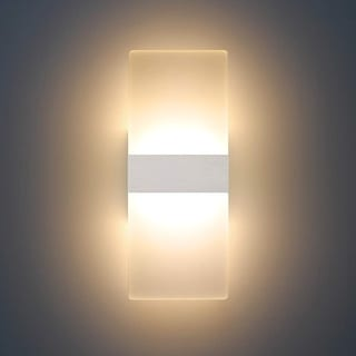 Link to Modern LED Acrylic Sconces Wall Lighting 12W Warm White 2700K - Medium Similar Items in Sconces