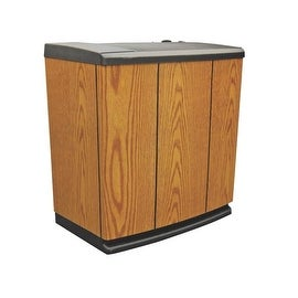 EssickAir H12 300HB 3 Speed Console Humidifier, 5 Gallon, Light Oak
