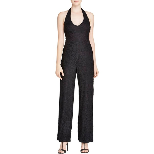Aqua Womens Jumpsuit Sleeveless