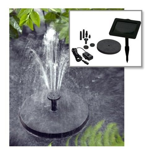 Smart Solar Fountain Pump Kit 150 - Black