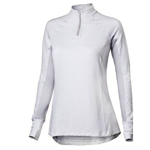 Noble Outfitters English Shirt Womens L/S Ashley Stretch Mesh