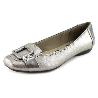 Anne Klein Sport Underpin Women Square Toe Synthetic Flats