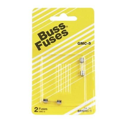 Bussmann BP/GMC-5 Time Lag Electronic Fuse, 5 Amp Cd 2