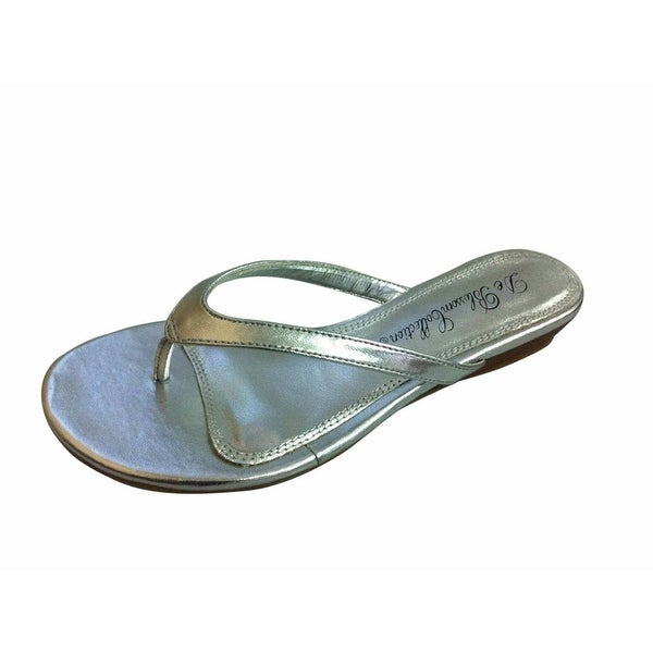 Blossom Women Mendy-2 Thong Strap Slip On Sandals