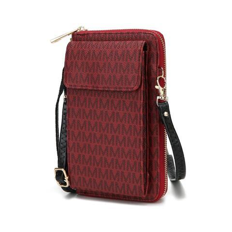 MKF Collection Mala Phone Wallet Crossbody Bag by Mia K.