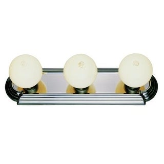 "Trans Globe Lighting 3218-1 Traditional Three Light 18.5"" Wide Bathroom Fixture"