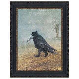 KRAHE PRINT 1952 DESIGN TOSCANO raven replica the raven raven painting canvas