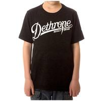 Dethrone Kid's Bolt Camp T-Shirt - Black