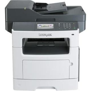 Lexmark Mx517de Monochrome All-In One Laser Printer With Scan, Copy, Network Ready, Duplex Printing And Professional Fea