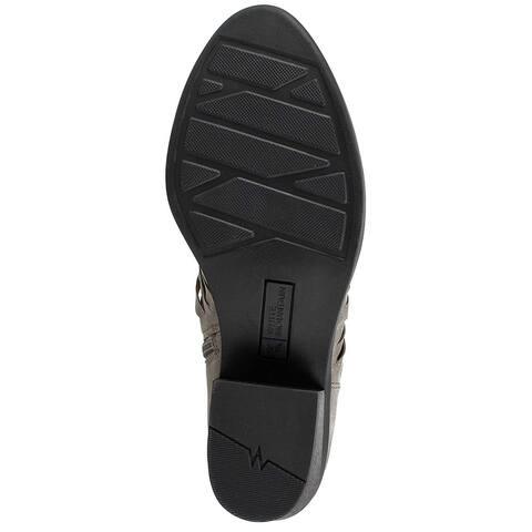 White Mountain Womens Desire Almond Toe Ankle Fashion Boots