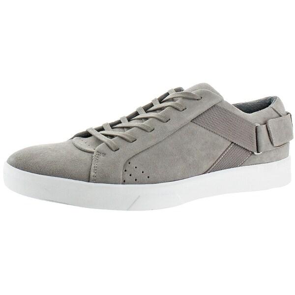 Shop Calvin Klein Italo Men's Suede Fashion Sneaker Shoes