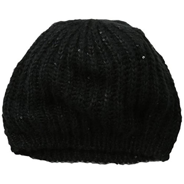 San Diego Hat Company Womens Beret Knit Sequined - o/s